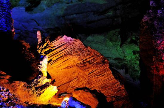 Mashan County, จีน: Jinlun Cave