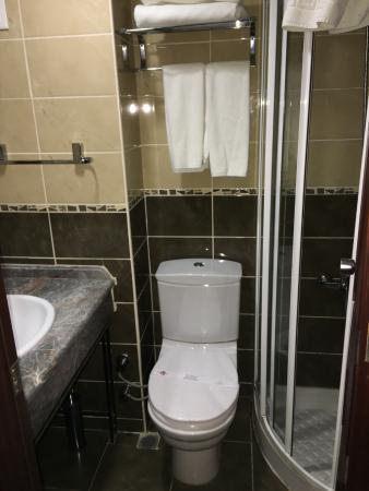Deluxe Golden Horn Sultanahmet Hotel : Small by American standards but who needs more?