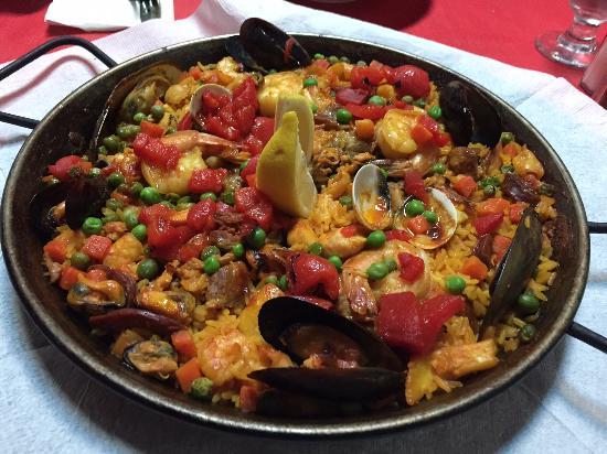Paella House: Paella Mixta