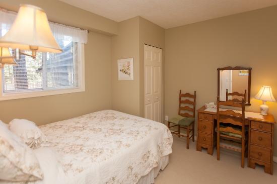 Hummingbird Hill Bed & Breakfast : A generous double room