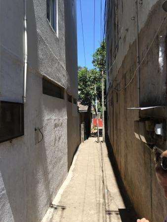 Gamage Stores: Down this alley to your  left