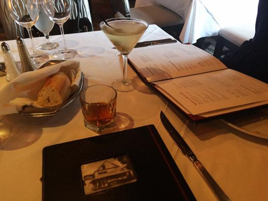 very good martini and a neat scotch picture of ruth s chris
