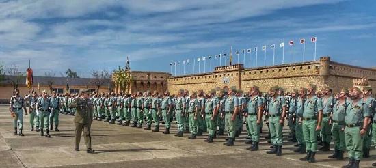 Melilla, Espagne : Tercio Gran Capitan 1º de la Legion