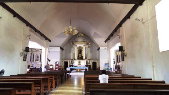 St Francis de Assisi Church: Inside the church