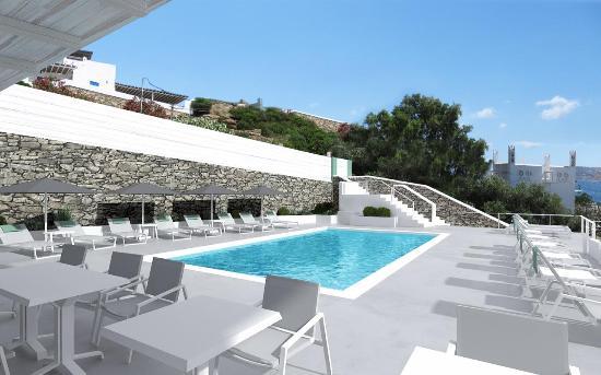 Omiros Hotel: swimming pool