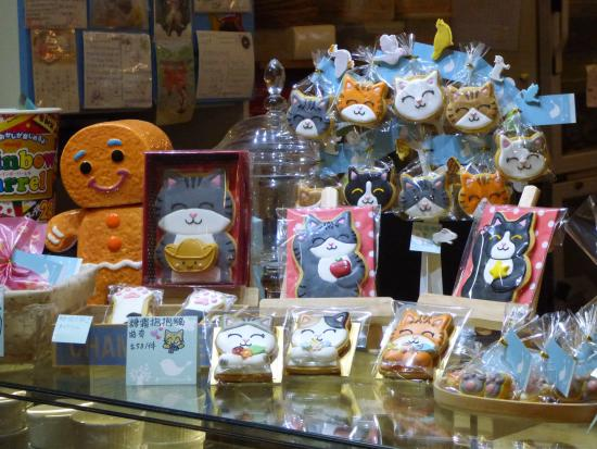 Cat Cookies Picture Of Ah Meow Cat Cafe Hong Kong