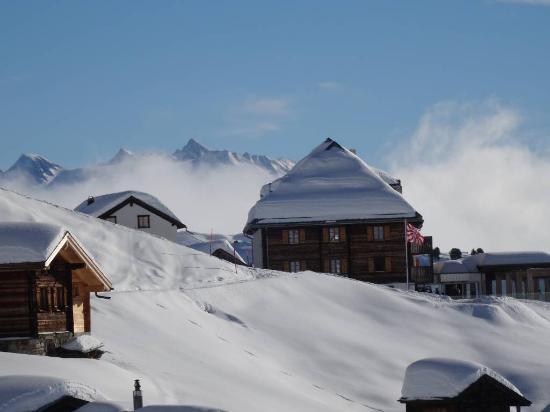 Hotel Belalp: Hôtel Belalp en février 2016