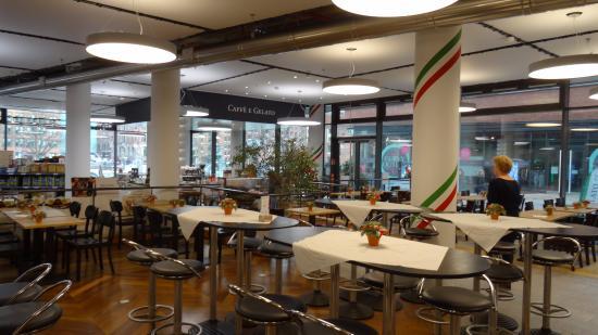 La Baracca Hamburg : restaurant met winkel