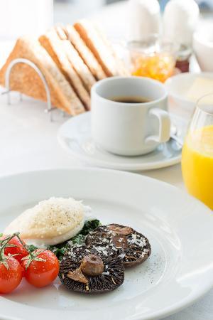 Corner Beech House: Confit mushrooms Breakfast