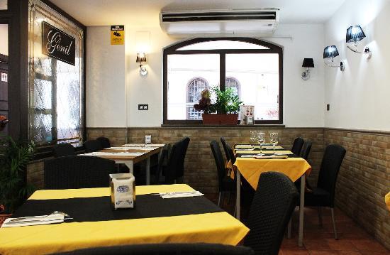 Restaurante Genil: Comedor