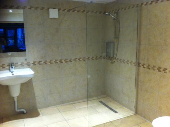 Burcott Mill Guesthouse: Old Mill Office - ensuite wetroom