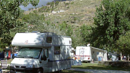 Campeggio Galeb Omis Split Croazia: Mało drzew