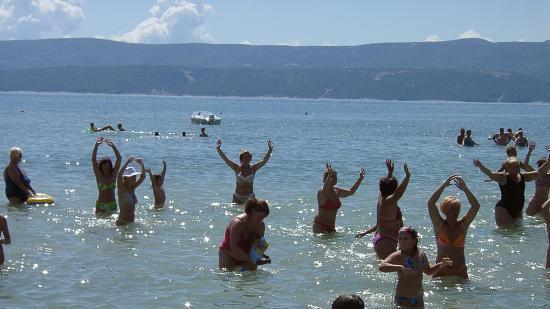 Campeggio Galeb Omis Split Croazia: Gimnastyka w wodzie