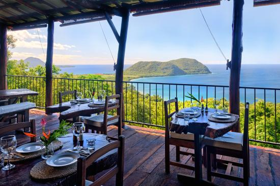 Manicou River: Bar & Bistro with the best views on the island