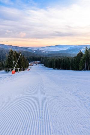 Hruštín, Slovensko: Skiing slope