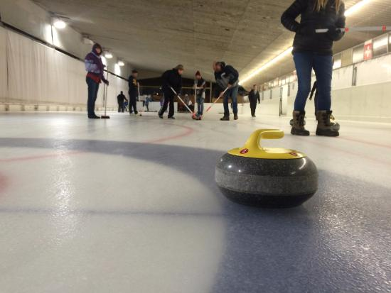 Indoor Curling Rink: Curling