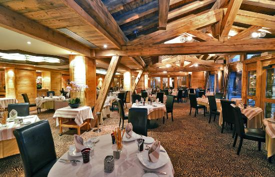 Tsanteleina Hotel: Table des Neiges