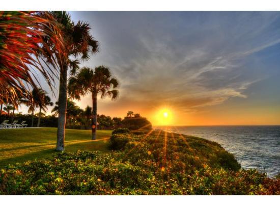Sunset at Sea Horse Ranch