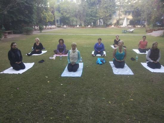 Yoga in Jaipur