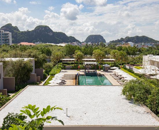 Grounds at the Hyatt Regency Danang Resort & Spa