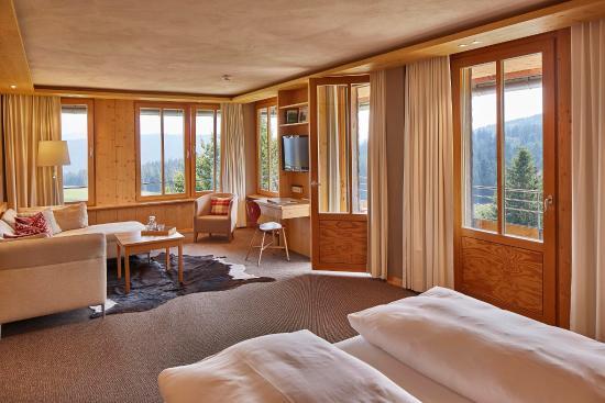 Hotel Die Halde: Doppelzimmer Appartement Feldberg mit Balkon