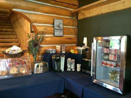 Dodge Peak Lodge: Great Breakfast!