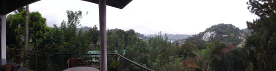 The Drop Inn : panoramic view from balcony