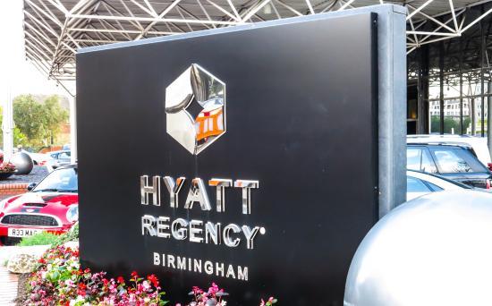 Hyatt Regency Birmingham Hotel England Uk Our Stay In
