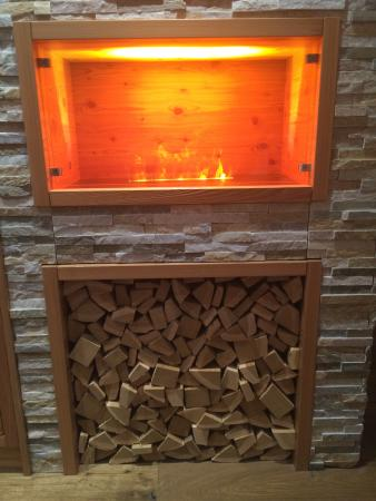 fake fireplace no heat but beautiful light picture of blatter s rh tripadvisor co uk