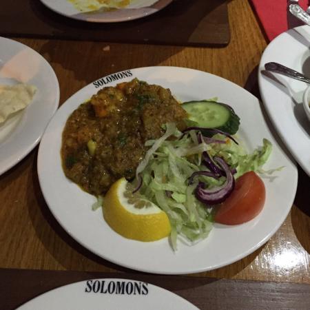 Solomons Dhaba : Starter - ? spicy lemon prawn