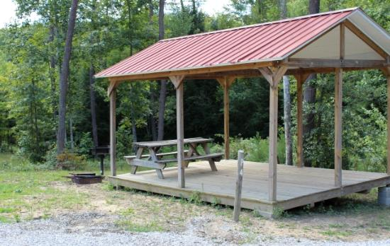 Sheltowee Trace Adventure Resort - Day Tours Tent Platforms & Tent Platforms - Picture of Sheltowee Trace Adventure Resort - Day ...