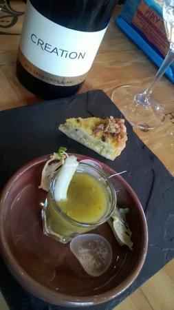Hermanus, Sudáfrica: Lunch and taster menu at Creation