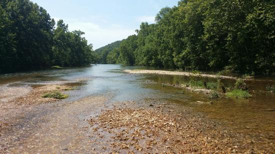 Caulfield, MO: 2015, on the North Fork River near Sunburst Ranch