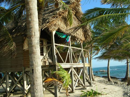 Long Caye Resort: This is where I stayed.