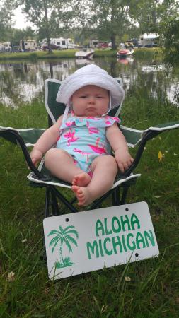 Aloha State Park: Happy Camper!