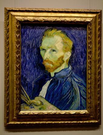 Galería Nacional de Arte: Another picture of the Van Gogh, couldn't resist