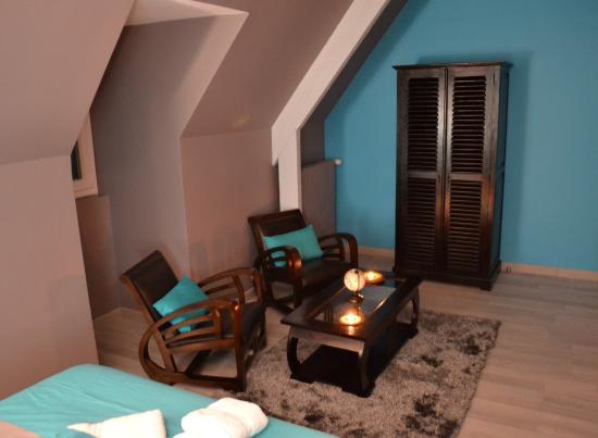 Saint-Genies, Frankrike: Salon de la chambre Livingstone