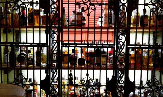 Havana Club Bar: Rum selection