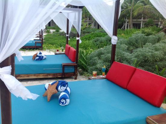 Hotel Cabañas Los Lirios: playa