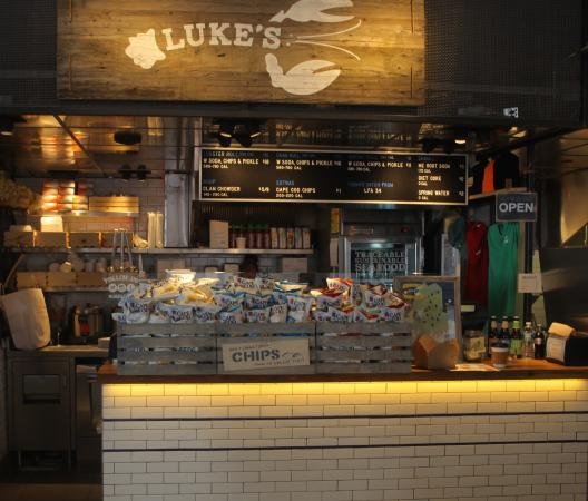 Luke S Lobster Time Square In City Kitchen Picture Of