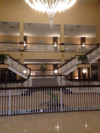 The Inn At East Wind Main Entrance Outside And Inside Of Hotel