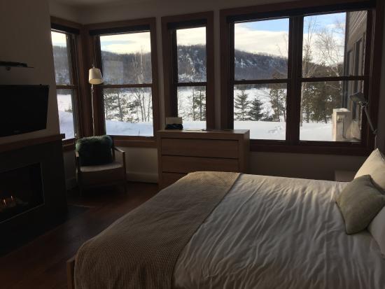 Lac-Superieur, Canadá: Studio Room - End Unit, Lake view
