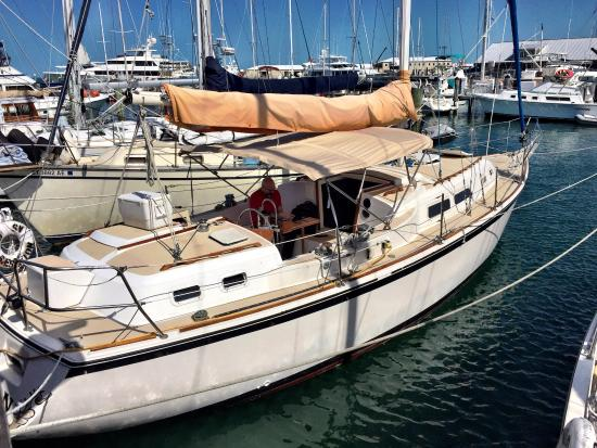 Key West Sailing Adventure: The Obsession 38' O'Day