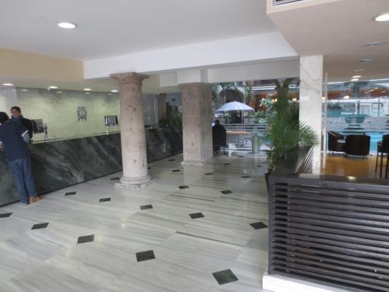 Posada Guadalajara Hotel: Lobby