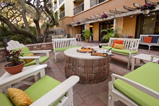 Courtyard Cocoa Beach Cape Canaveral: Terrace