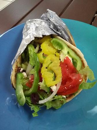 St. Pete Beach Produce & Deli: The Veggie wrap was super delicious and fresh!