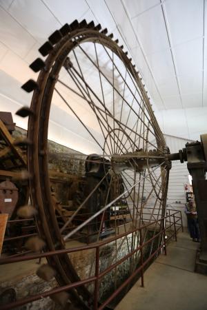 Grass Valley, Kalifornien: Pelton Wheel In Action