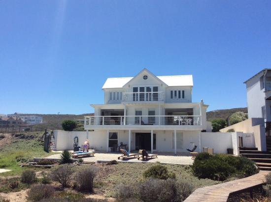 View From The Beach Rear Of The Property Picture Of The White House Beach Villa Yzerfontein