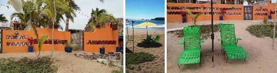 Pérula, Mexico: Direct Beach Access