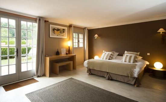 La Boissiere-Ecole, Francia: chambre louisiane